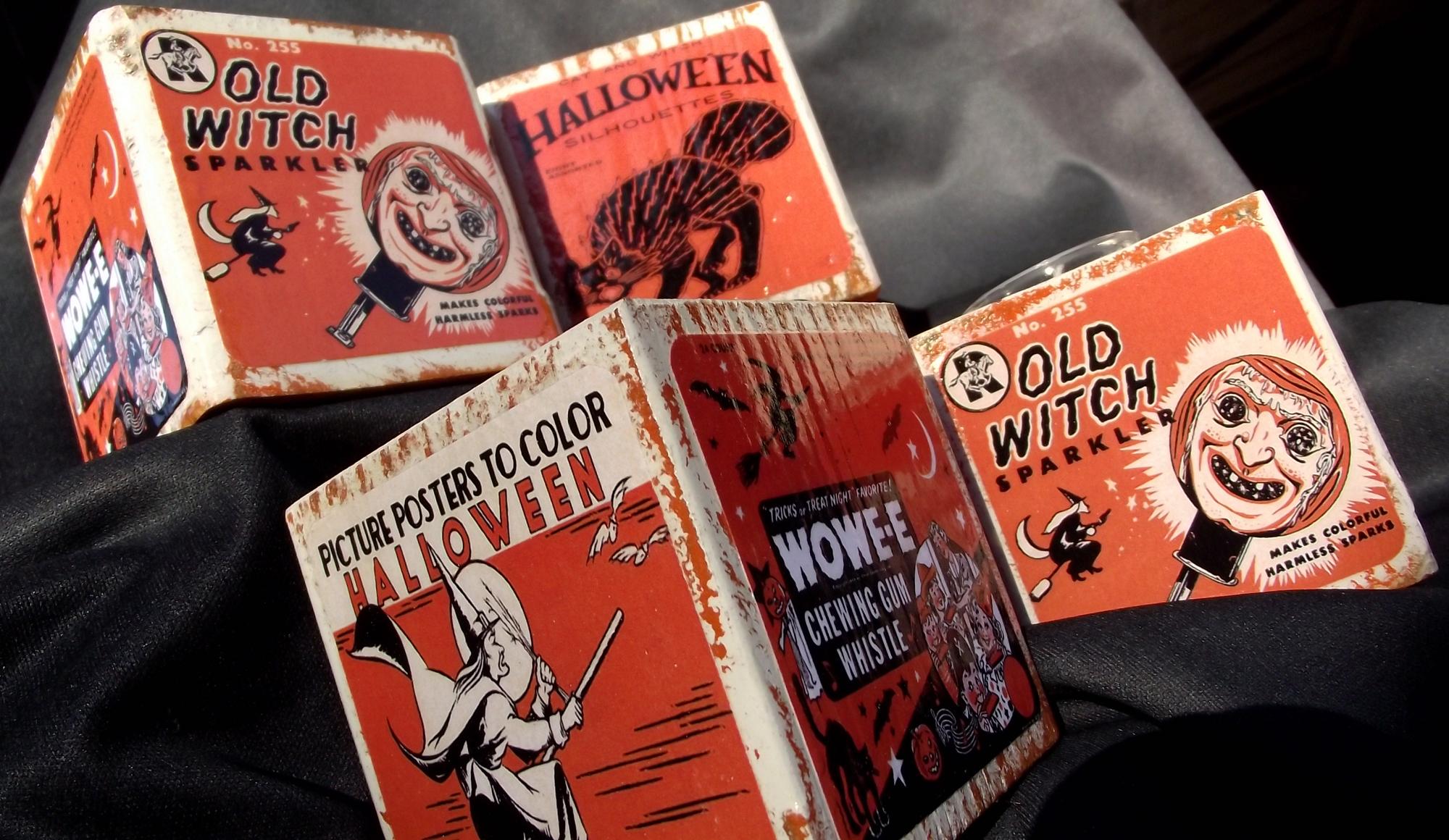i - Vintage Halloween Decorations For Sale
