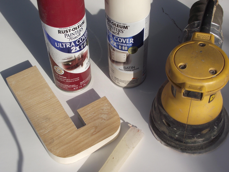 pre cut wood letters