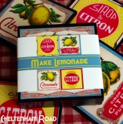 Vintage French Lemonade Coasters
