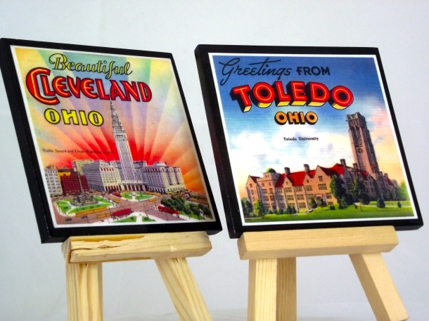 Celebrate Ohio Coaster Set