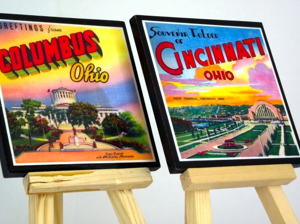 Vintage Postcard Set Columbus Ohio