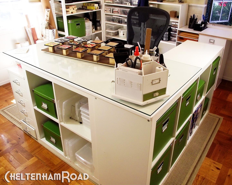 Craft Room Desk: Craft Room Makeover