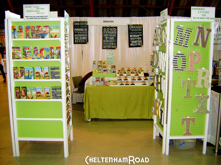 Easy craft show display tower tutorial and an upsetting for Vendor craft shows near me
