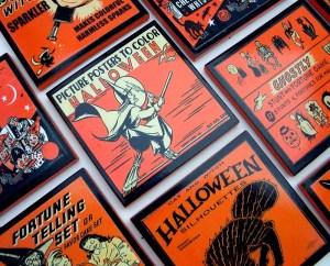 Vintage Halloween Coasters