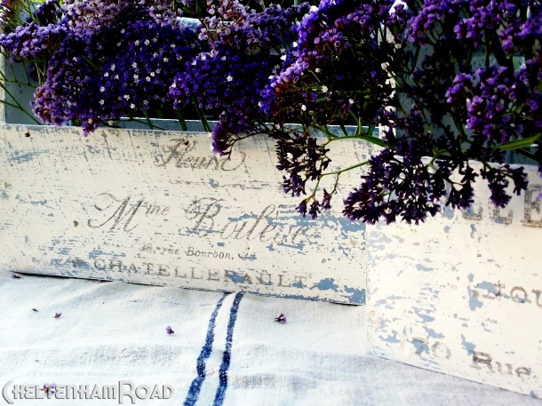 Shabby Chic French Flower Box Tutorial