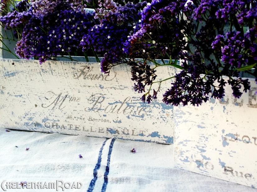 Shabby Chic French Flower Box Tutorial