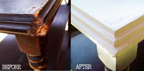 How To Use Bondo to Repair Damaged Furniture