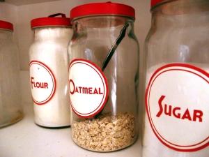 Free Retro Kitchen Labels