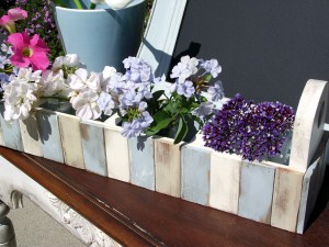 Pottery Barn Inspired Paint Stick Planter