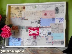 Vinage Postcard Tray Tutorial