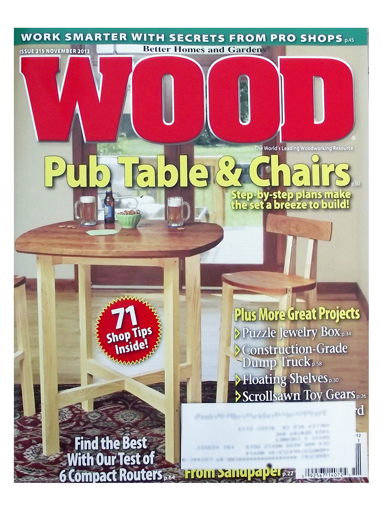 Good Wood Magazine Plans Index #8: WOOD Issue 247, July 2017