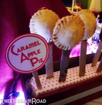Caramel Apple Pie on a Stick
