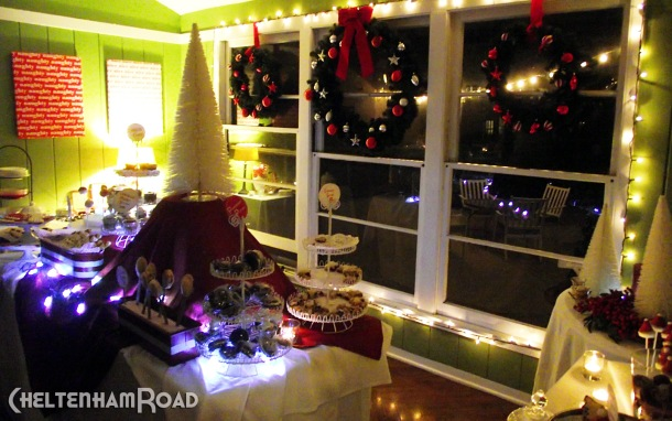 Cheltenham Road Holiday Dessert Party