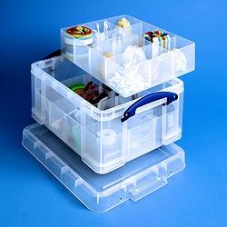 21 ltr Really Useful Box with tray