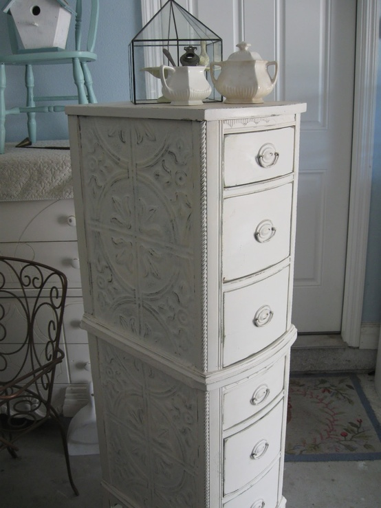 Ceiling Tin End Table