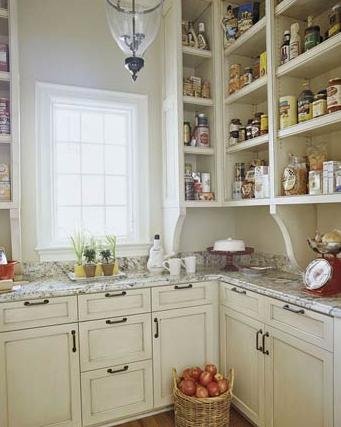 organized-open-pantry-shelving
