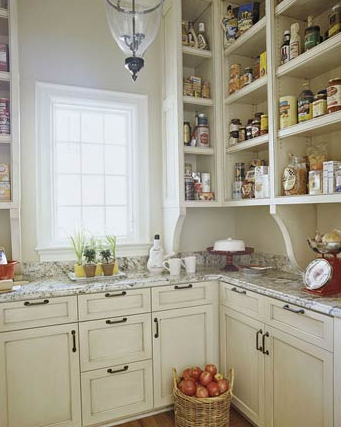 organized-open-pantry-shelving