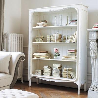Dresser into Bookcase