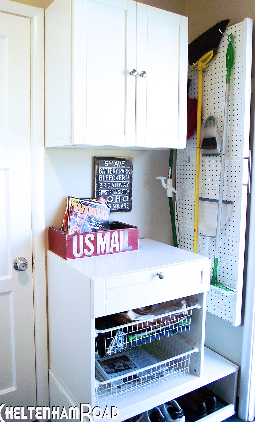 Laundry Room Home Staging Diy Before And After Laundry Room