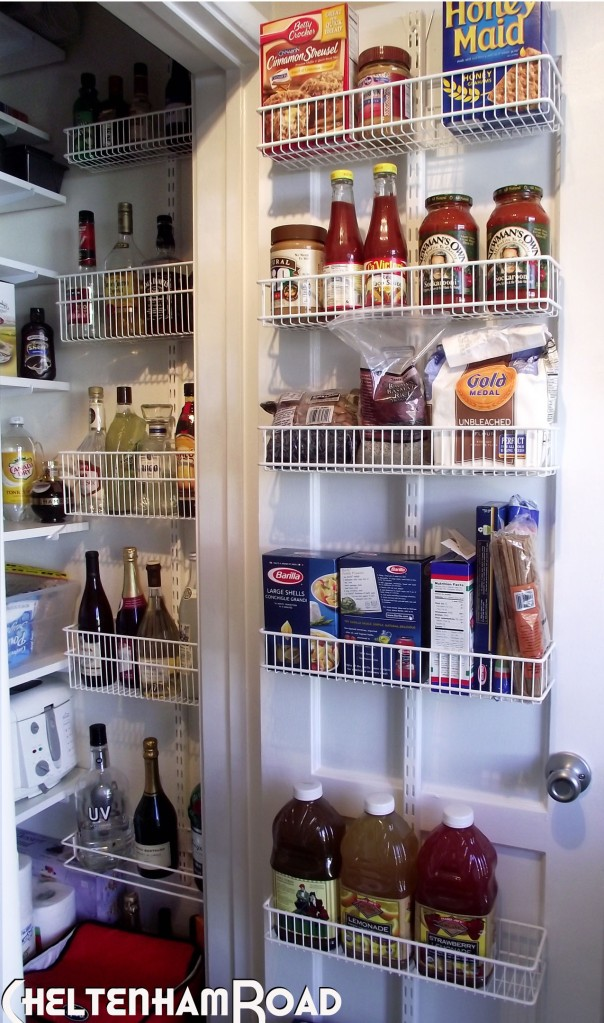 Organized Pantry Door
