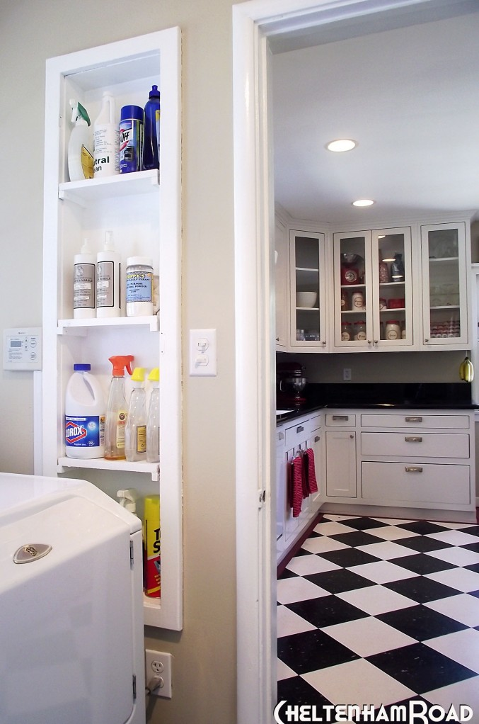 Pantry Looking to Kitchen
