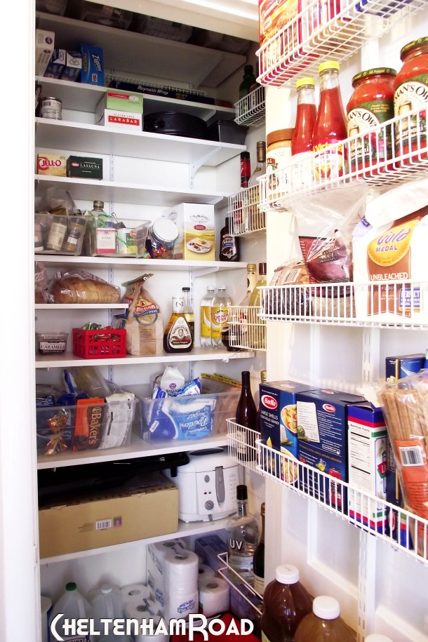 Revised Pantry Closet