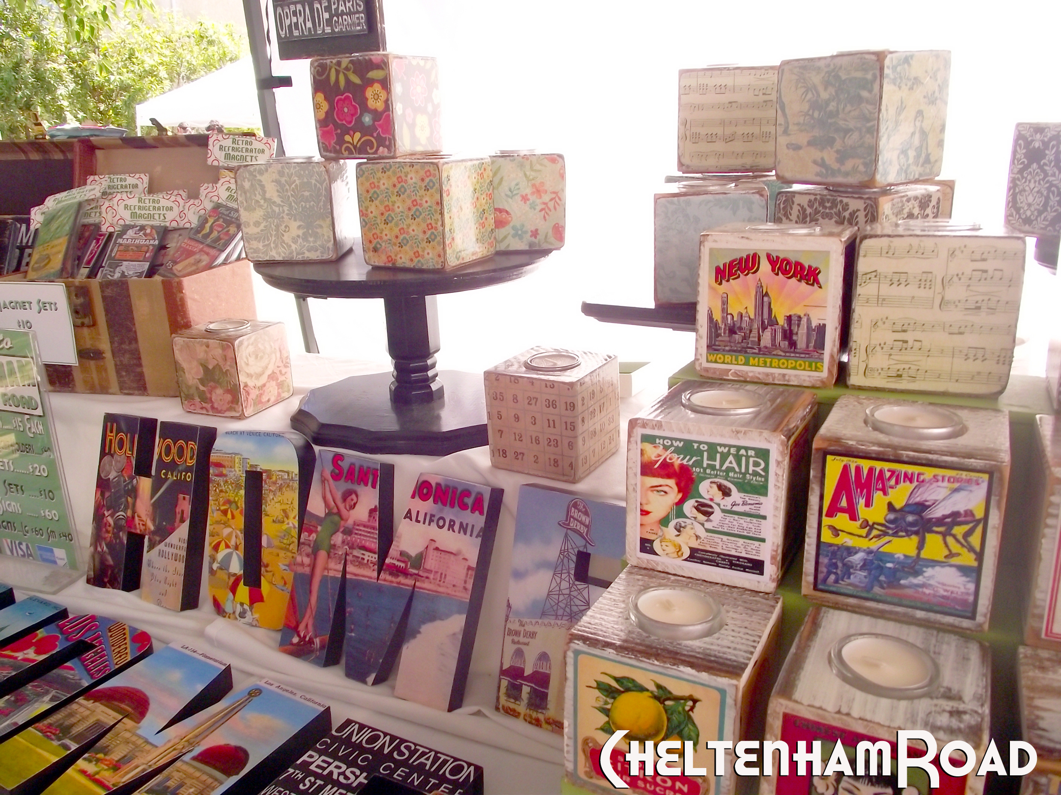 Exhibition Booth Set Up : Craft booth set up for the little french market