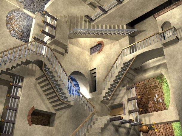 MC_Escher_Relativity_Stairs_by_ICPJuggalo1988