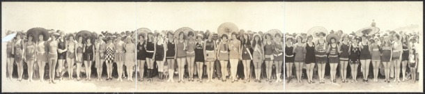 Panorama Vintage Bathing Beauties