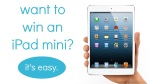 Ipad Mini Giveaway via Mod Podge Rocks!
