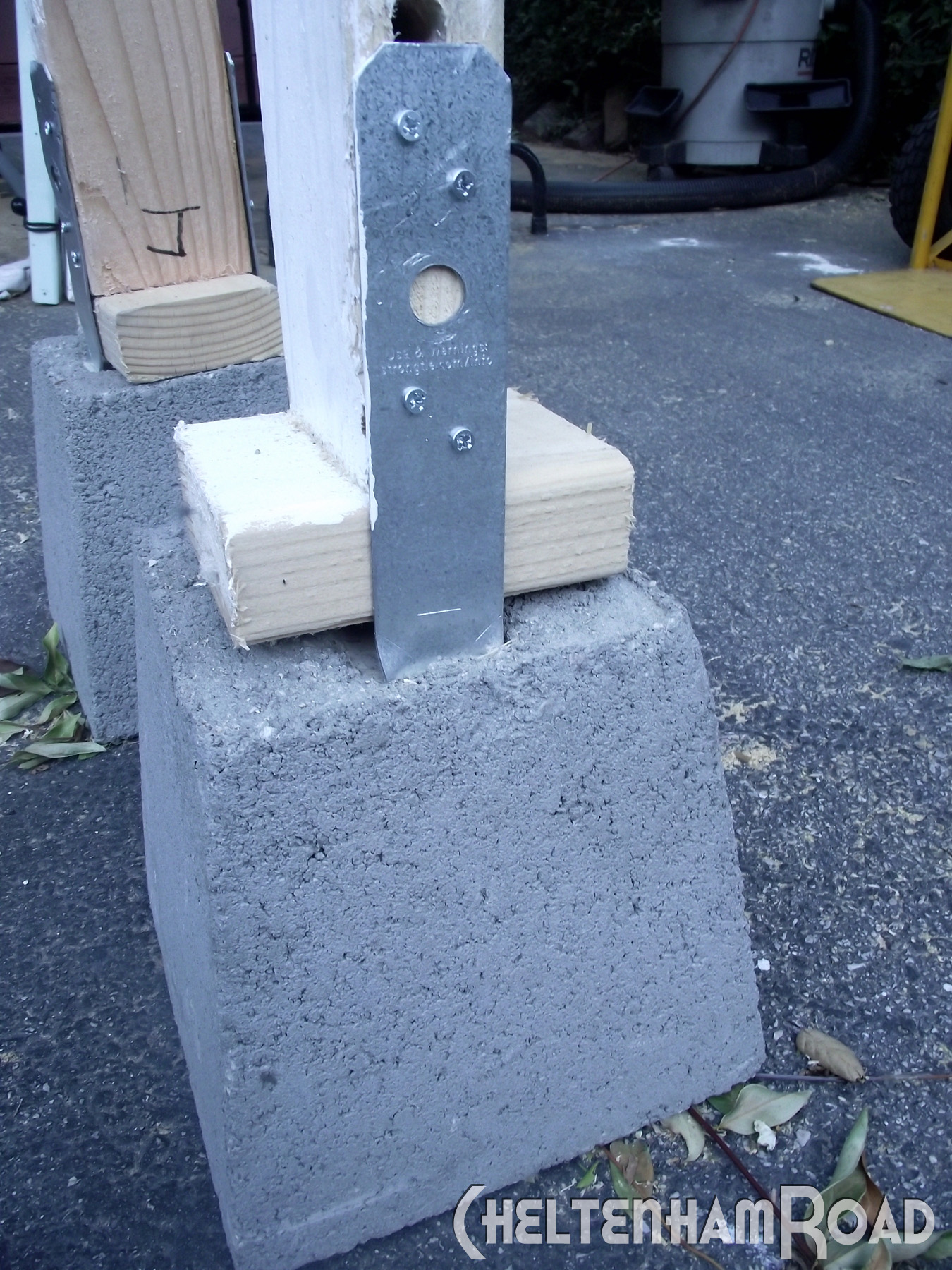 Ready Made Footings : Portable wall for craft show display cheltenham road