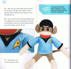 Star Trek Sock Monkey