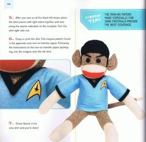 Star Trek Sock Monkey