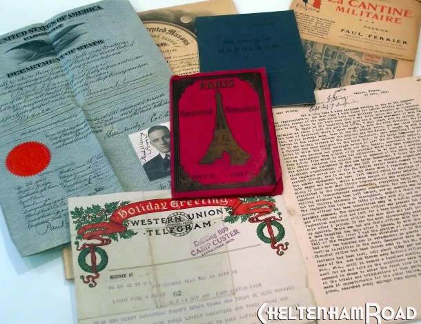 Paris World War I ephemera