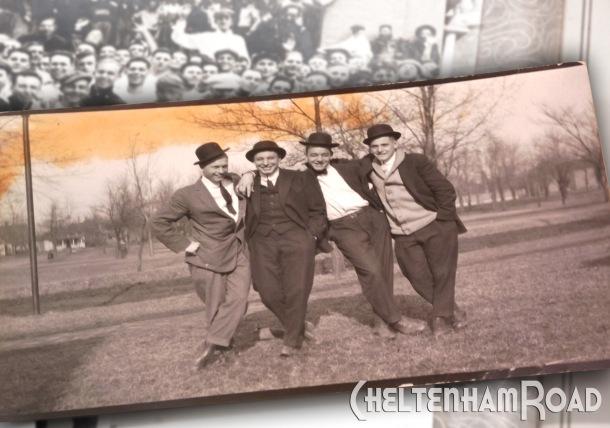 Vintage Jaunty Men