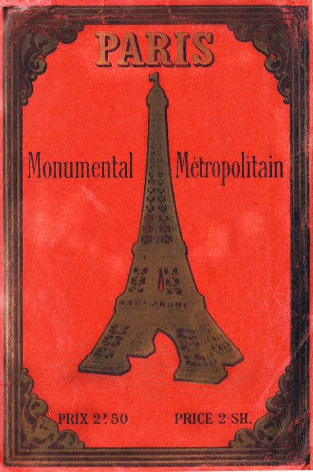 Vintage Paris Guidebook Cover