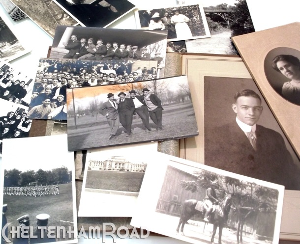 Vintage Photograph Family History