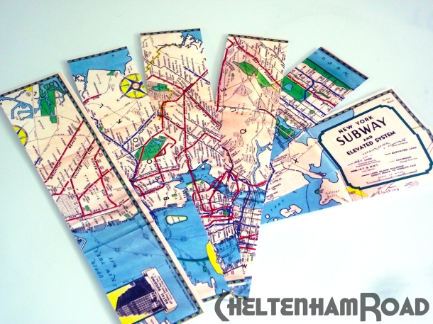 Cut map into strips