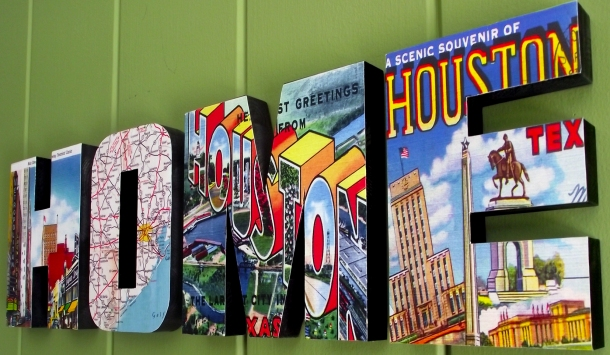 Houston HOME sign