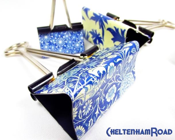 Easy DIY Decorative Binder Clips