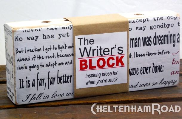 The Writers Block Pen Holder Cheltenham Road