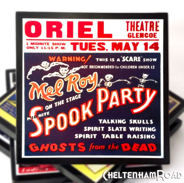 Mel Roy Spook Party Coaster