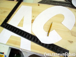 Patterns for Large Letters