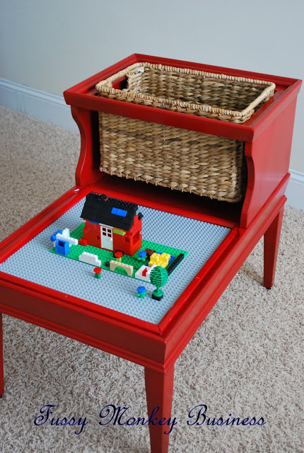 Repurposed Lego Table