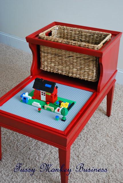 Repurposed Lego Table
