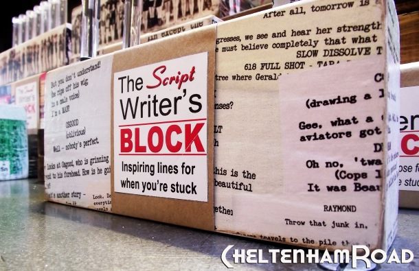 Script Writer's Block by Cheltenham Road
