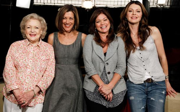 Betty White, Wendie Malick, Valerie Bertinelli, Jane Leeves