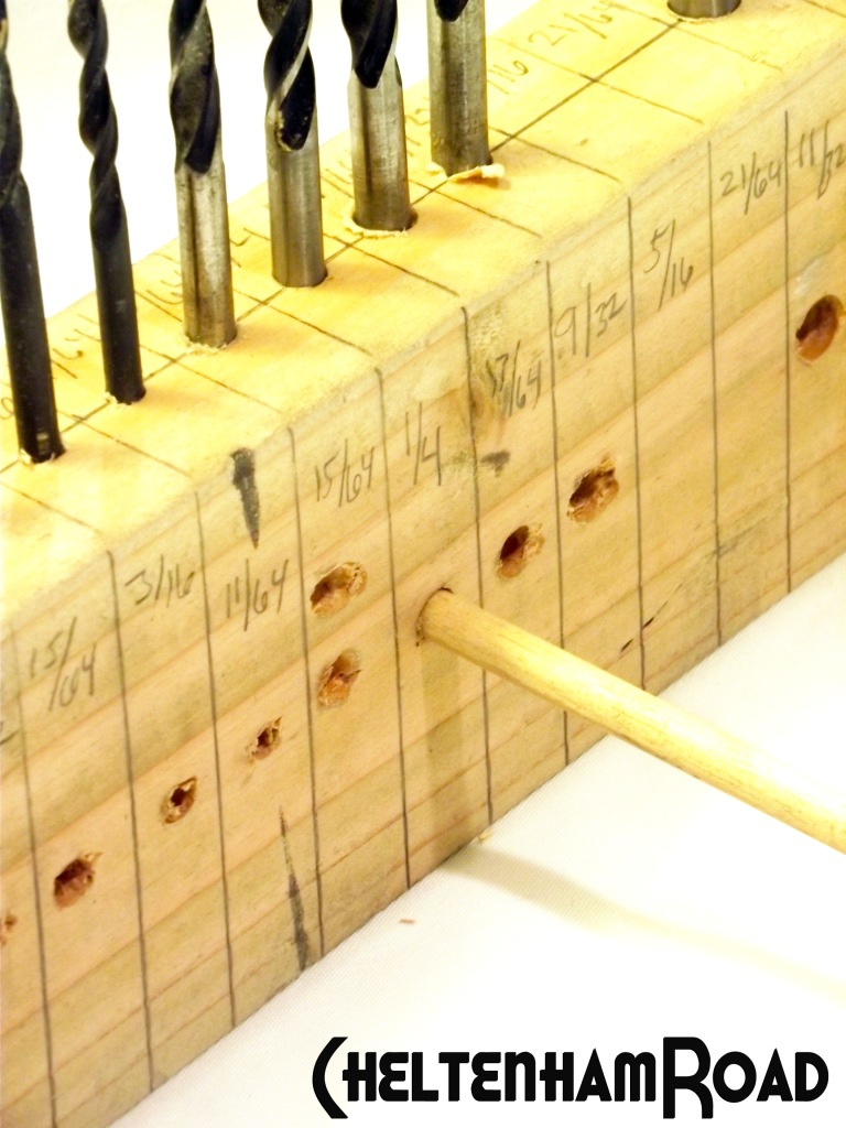 Drill Bit Guide and Storage