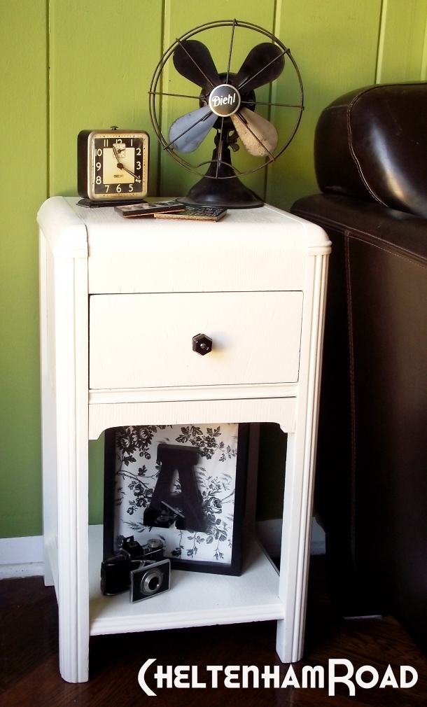 DIY Deco End Table Makeover