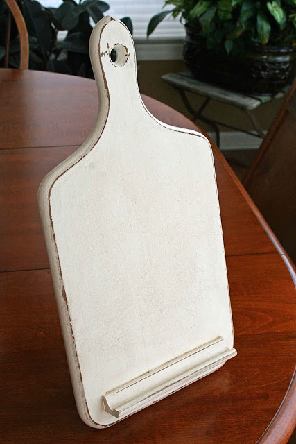 Pottery Barn Inspired Ipad Holder by mamiejanes